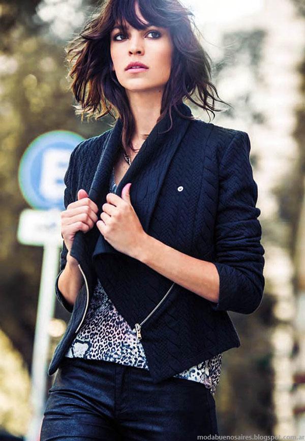 MODA: Camperas, tapados y sacos de la colección de Abrigos del otoño invierno 2015 de la marca argentina Markova.
