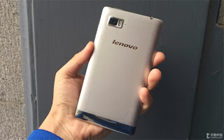 Lenovo Vibe Z back view