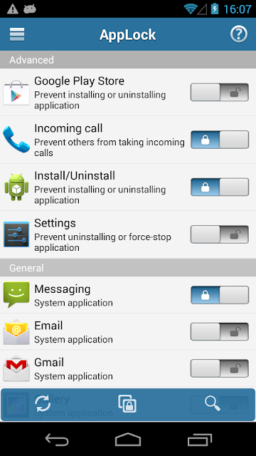 AppLock - Aplikasi Unik Untuk Mengunci Aplikasi Android