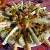 Ensalada de espárragos, endivias, alcachofas y mas. (Vegetariana)