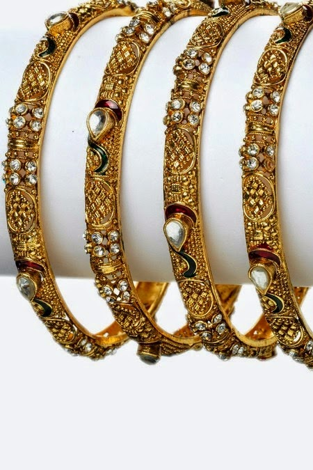 Bangles Design In Diamond Latest Designs
