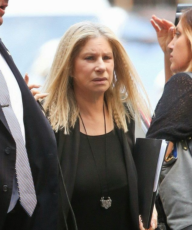 As you know, Barbra Streisand's being more older, but her newest character is still drawing from her art. Constructing her long blonde hair into a unique value, the 72-year-old pulled out yet another daring and unstopping show at New York, USA on Tuesday, November 11, 2014.