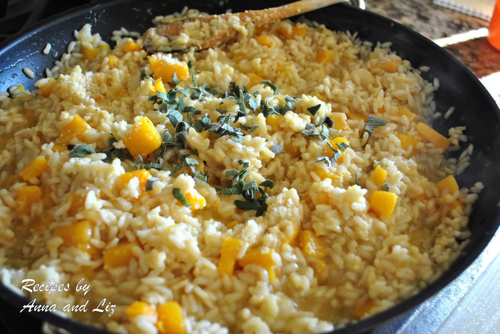 ... : Butternut Squash Risotto with Cheese and Sage (Risotto alla Zucca