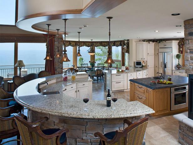 debe ser colocado en paralelo a la sala con una gran cantidad de espacio que rodea la isla las islas de cocina agregan belleza y la funcin del corazn de