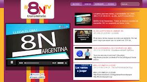 8N TV: AHORA LA TELEVISIÓN LA HACÉS VOS!