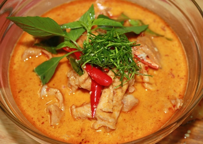 Thai food recipe you can do panang gai thai panang chicken curry panang gai thai panang chicken curry forumfinder Images