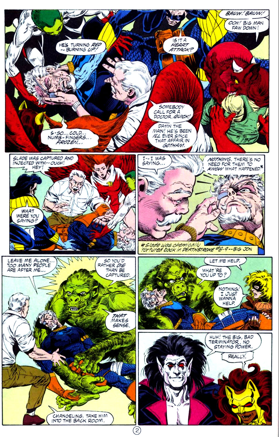 Deathstroke (1991) Issue #15 #20 - English 3
