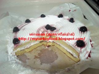 SPONG VANILLA BUTTER MILK CAKE