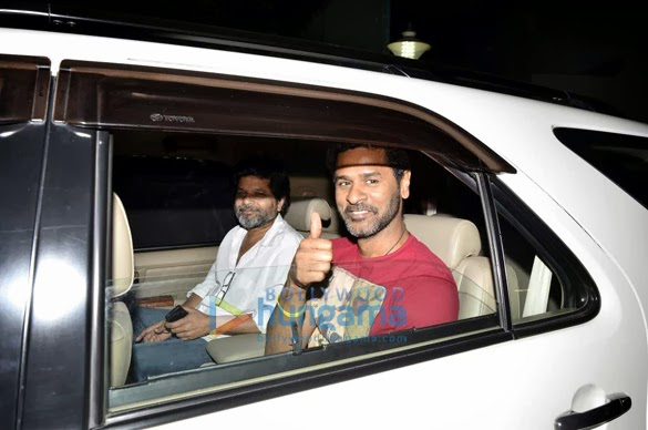 Bollywood Celebrities 'Gunday' Special screening