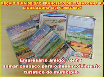 PEÇA O GUIA DE SÃO FRANCISCO DE ITABAPOANA RJ