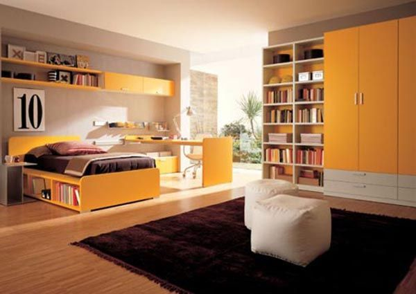 Design+of+the+bedroom+of+teenage+girls+zalf Teen Room Furniture Design