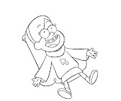#7 Mabel Pines Coloring Page