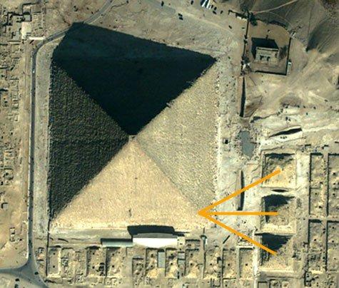 Giza – the Time Machine  Khufu_and_3_sml_pyramids
