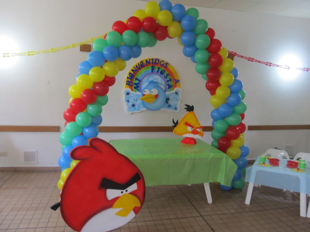 DECORACION ANGRY BIRDS FIESTAS INFANTILES | Fiestas infantiles ...
