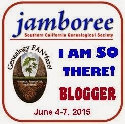 Genealogy Jamboree - I Am SO There! Blogger Badge Contest...You Just Might Win!