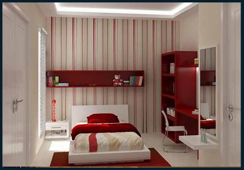 ... kecil: Hiasan bilik tidur yang sempit berkongsi gambar hiasan rumah