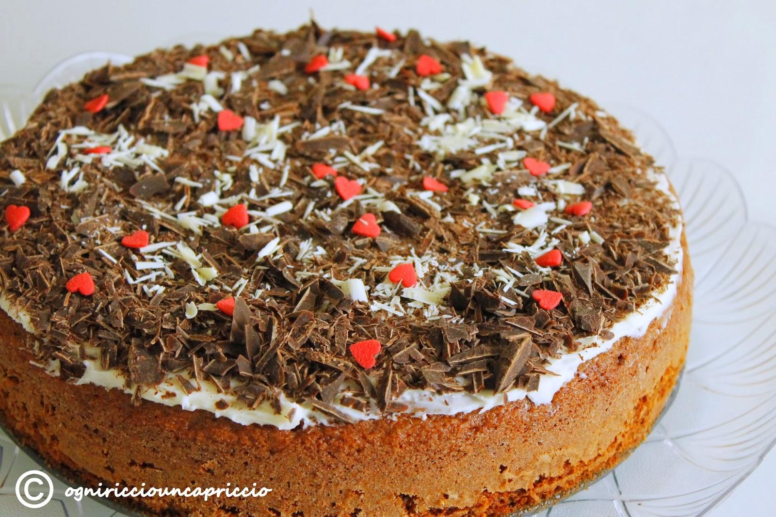torta al cioccolato, facile e buonissima!