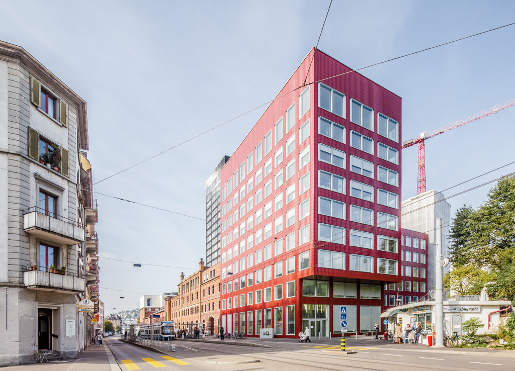 A f a s i a gigon guyer atelier ww for Architecture zurich