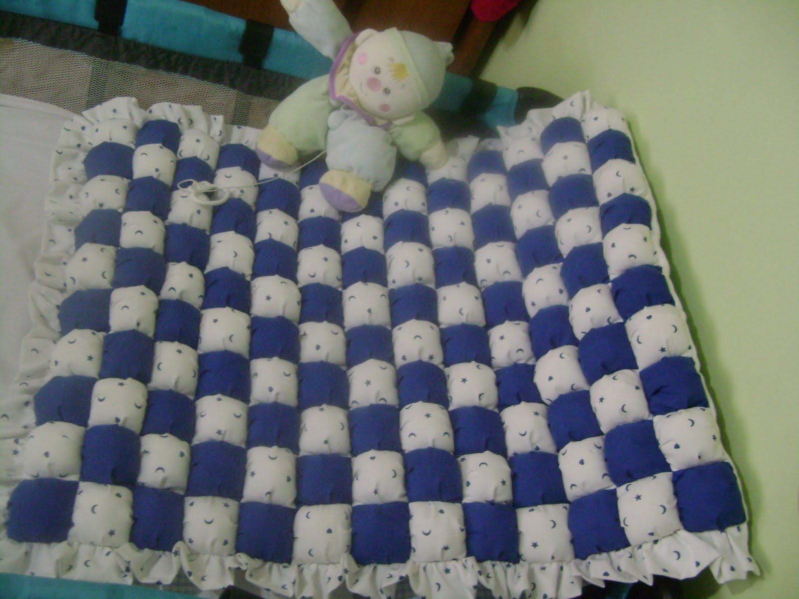 de Aralena: Como hacer un acolchado para bebé con ravioles de tela