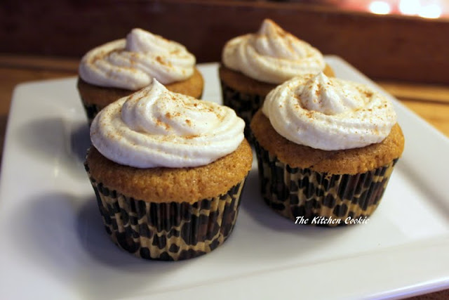 ... Buttermilk Pumpkin Spice Cupcakes with Buttermilk Butter Cream Icing