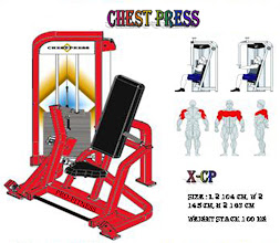 Chest Press Red
