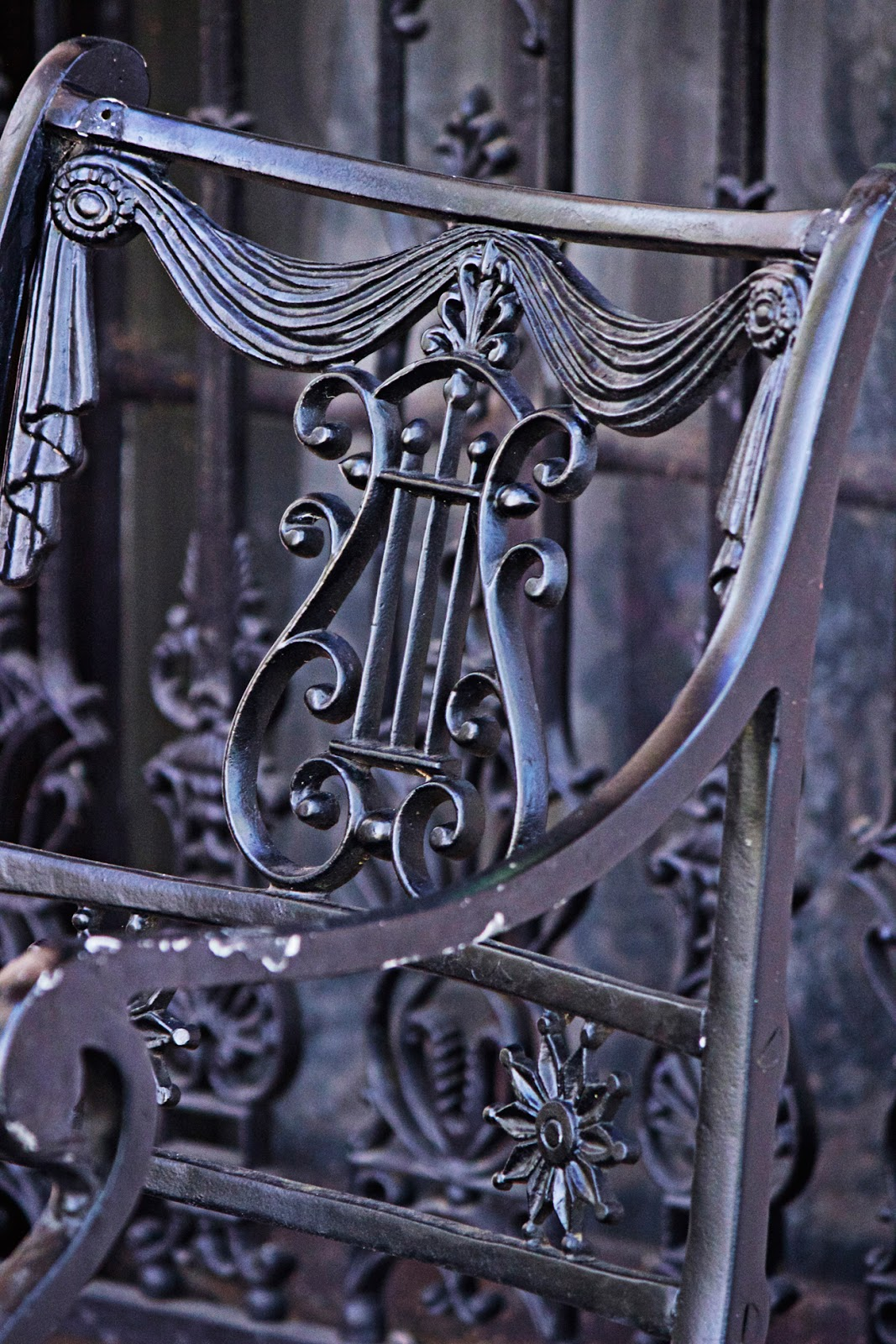 iron chair - photo copyright Allison Beth Cooling