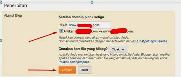 Cara Mengarahkan Domain dari idHostinger atau NiagaHoster ke Blogger
