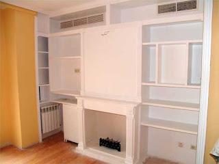 Libreria escayola - Mueble de escayola ...