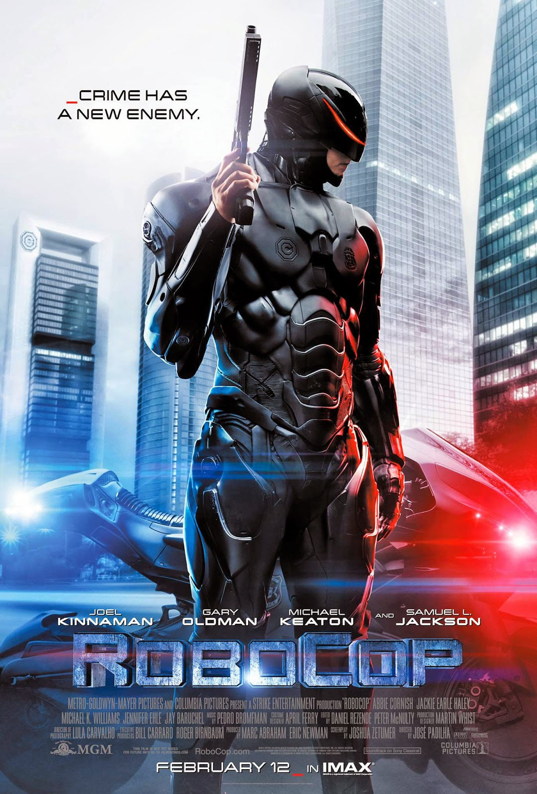 Cảnh Sát Người Máy - Robocop (2014) Poster