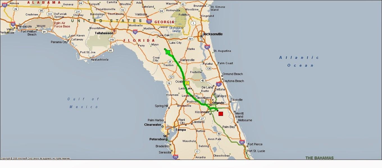 How Far Panama City Beach To Gainesville Fl