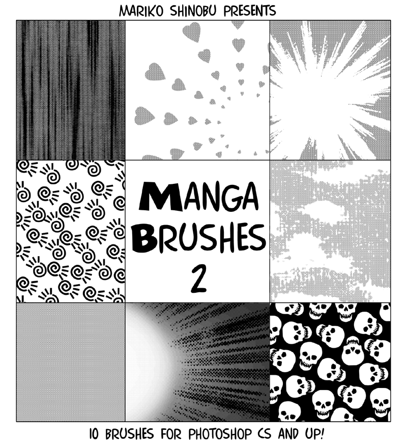 http://mistressmariko.deviantart.com/art/Manga-Brushes-2-253868163
