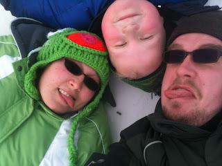 More Winter Sledding Fun!