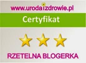Certyfikat Rzetelna Blogerka