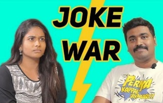 Joke War ft Black Sheep Nandhini | Kichdy