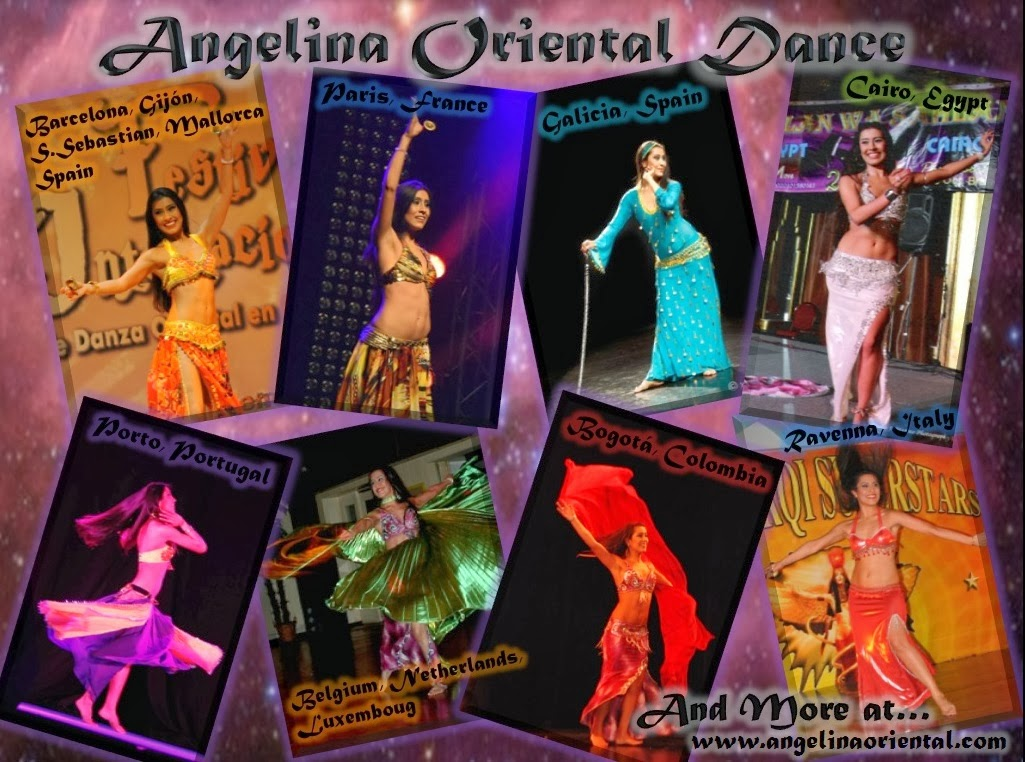 Angelina. Danza Oriental Coruña