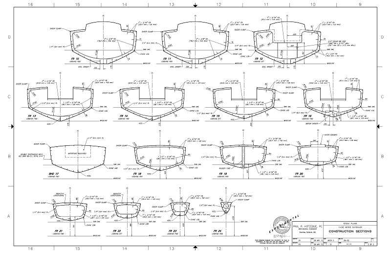 September 2014 ~ Plans for boat