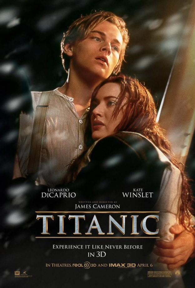 Avatar Affiches de Films - Page 2 Affiche-titanic-3D
