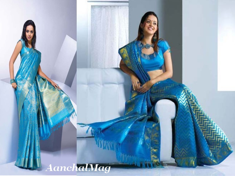 Pulimoottil silks pulimoottil lehengasarees indian dresses pulimoottil embroidered saree thecheapjerseys Gallery