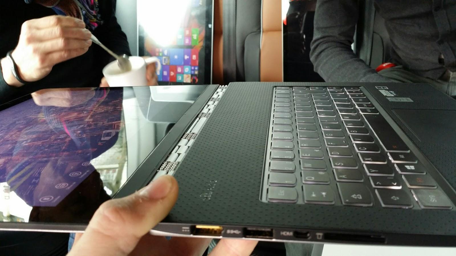 Atomlabor Blog Gadget Tipp : Ein Besuch von Lenovo im Atomlabor und das Lenovo Yoga Tablet 2