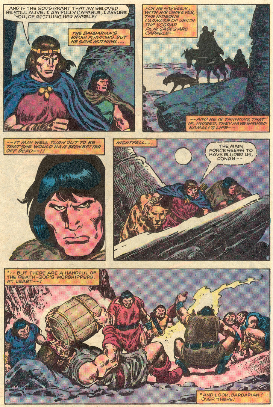 Conan the Barbarian (1970) Issue #151 #163 - English 14