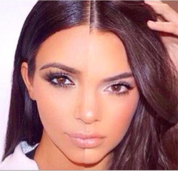 Kim Kardashian, Kardashian sisters, gossips, makeup, beauty