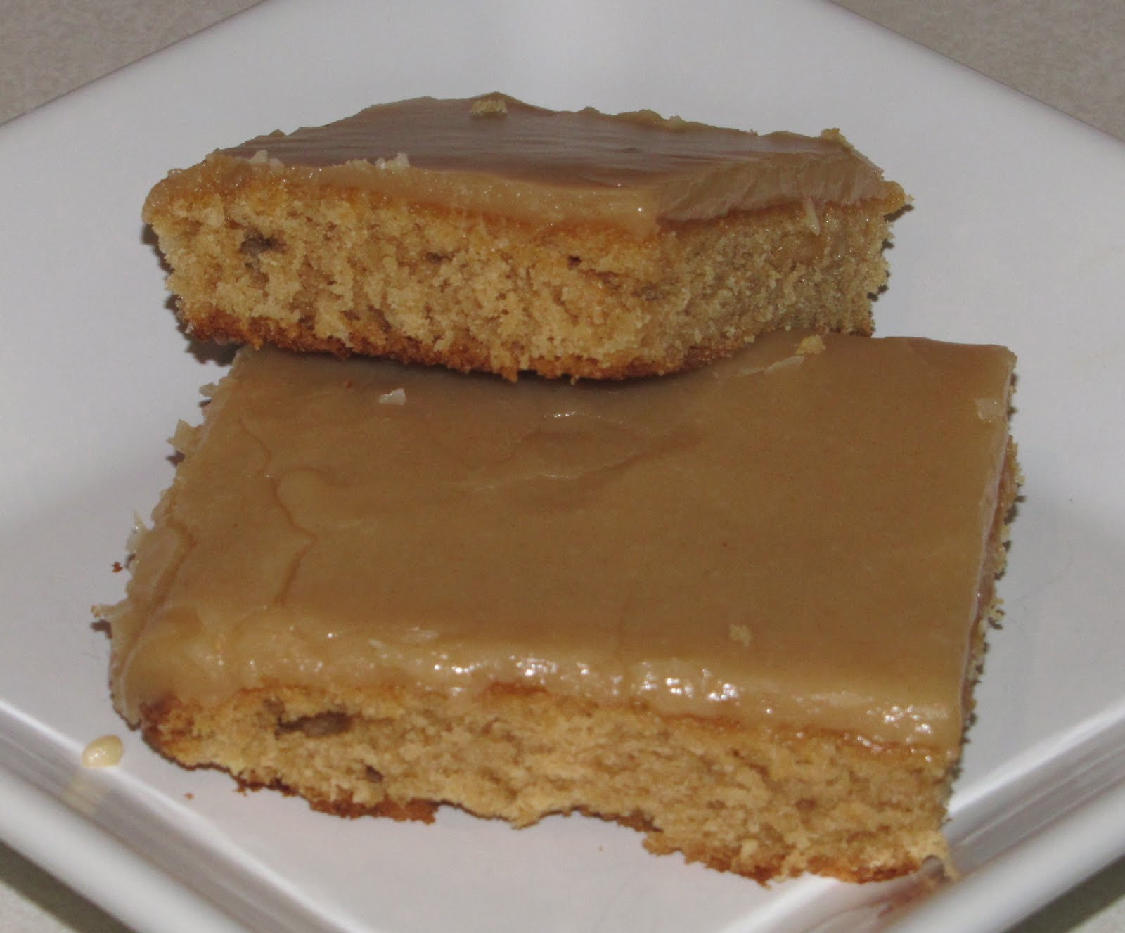 Peanut Butter Cake Made With Yellow Cake Mix