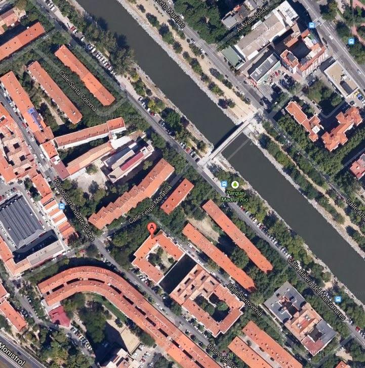 Ubicación: Calle Felipe Moratilla Nº5, 2º Dch. 28008 Madrid