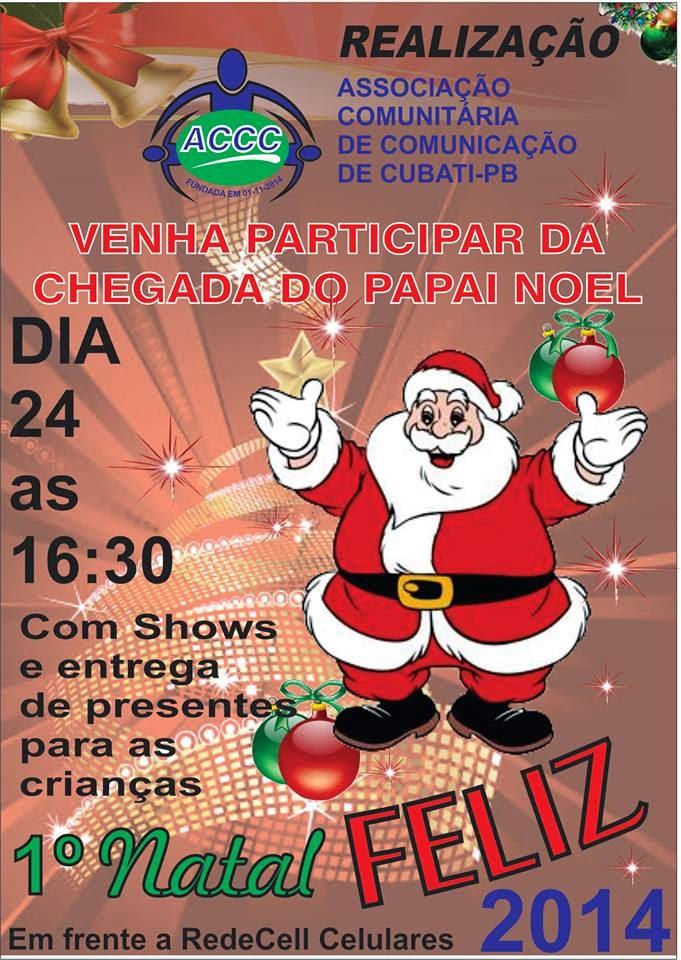 Natal Feliz em Cubati-PB