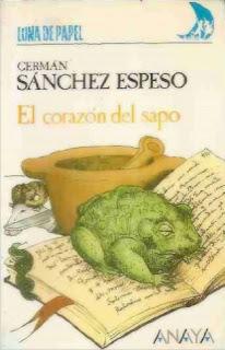 Corazón del Sapo Germán Sánchez Espeso Portada 1986