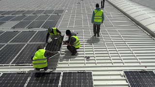 Mounting Solar Panels with SolBond System by Solon
