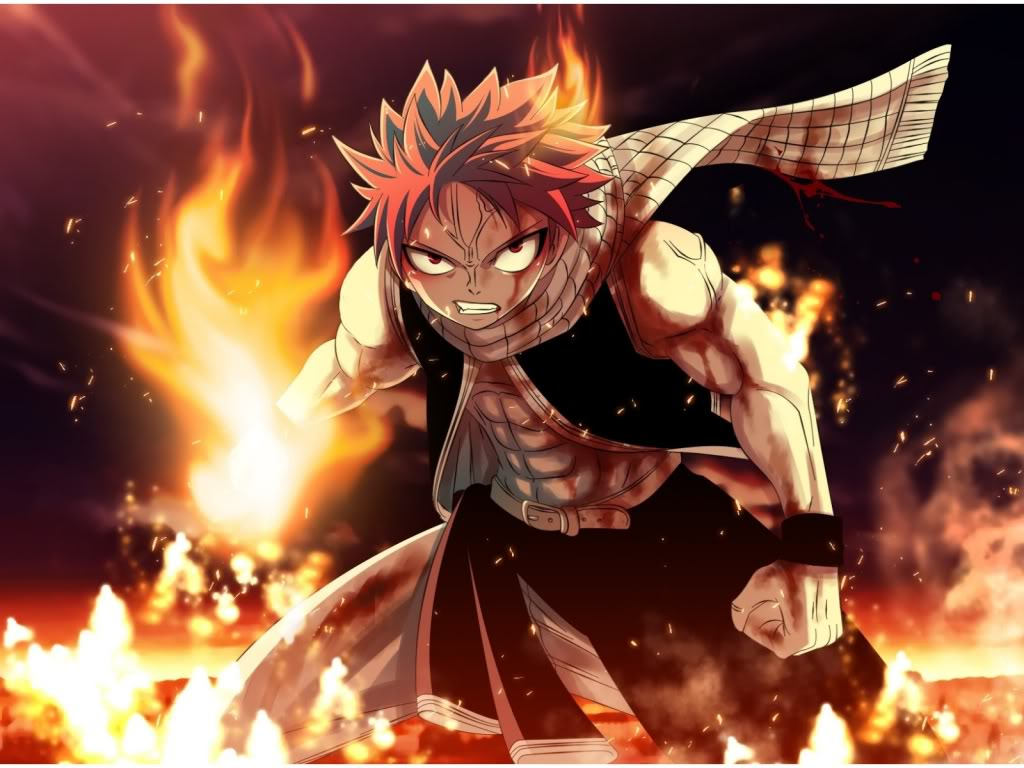 Natsu The Son Of Dragon Is One Coolest Characters In All Anime He From Show Fairy Tail And Uses Slayer Magic To