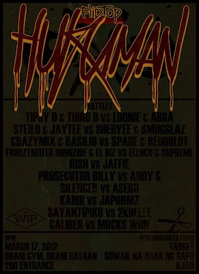 FlipTop Central Luzon Division presents HUKUMAN