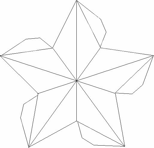 Sweetness to create musica stellata for Stelle di carta tridimensionali