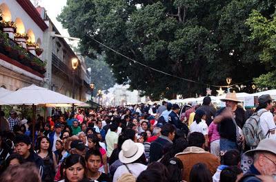 La Noche de Rábanos, Night of the Radishes, Oaxaca de Juárez, Mexico